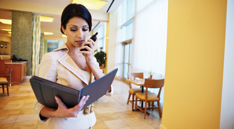 Hotel Two-Way Business Radios